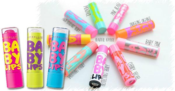 Maybelline Baby Lips có nhiều loại hương cho bạn lựa chọn