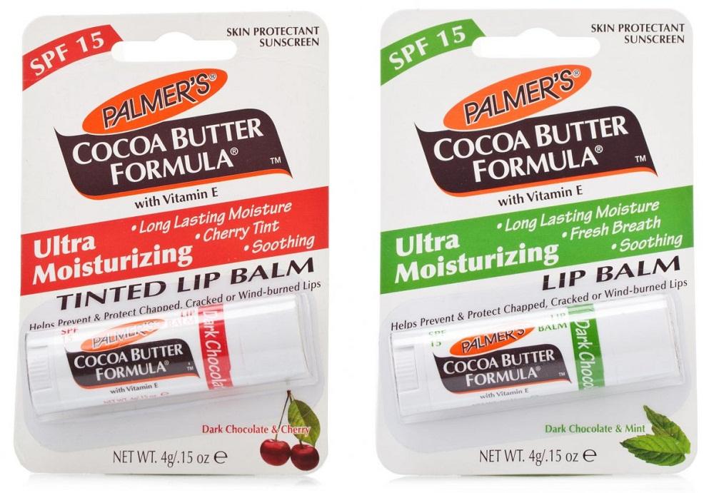 Son dưỡng môi cacao Palmer's Cocoa Butter đã được kiểm nghiệm bởi chuyên gia da liễu