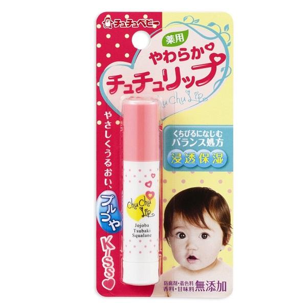 son dưỡng môi chống nẻ cho bé chuchu baby