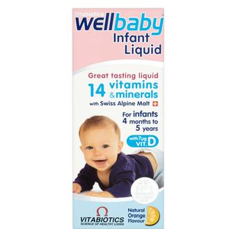 Vitamin tổng hợp Wellbaby tăng đề kháng cho bé 4 tháng-5 tuổi