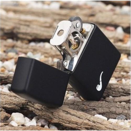 Bật lửa Zippo Pipe Lighters Black Matte 218PL chính hãng