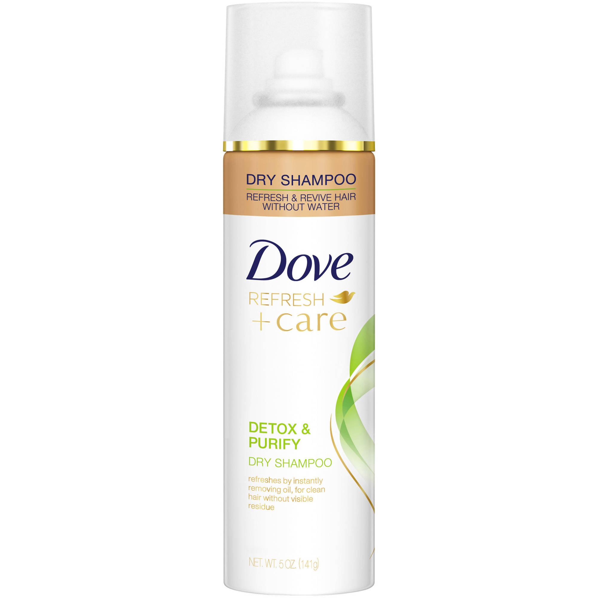 Dầu gội khô Dove giúp bạn tiết kiệm thời gian mà vẫn có được mái tóc sạch gàu, bóng khỏe