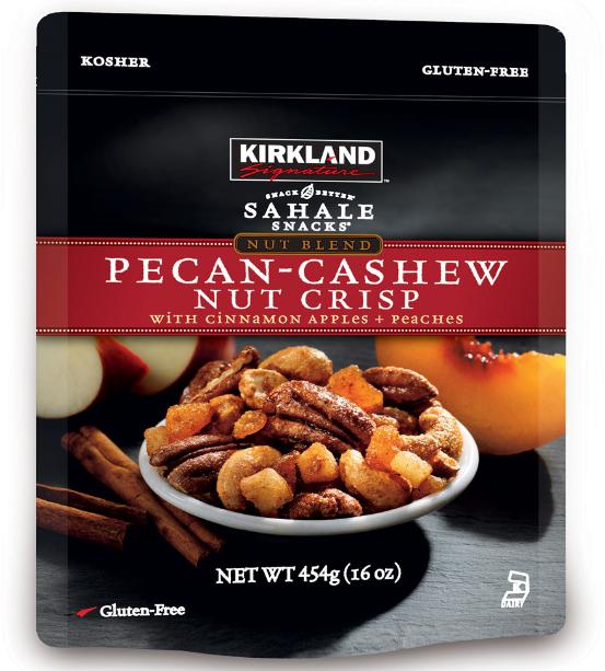 Hạt sấy hồ đào và hạt điều tẩm quế Mỹ Kirkland 454g mix bổ dưỡng đang được các chị em phụ nữ ưa chuộng