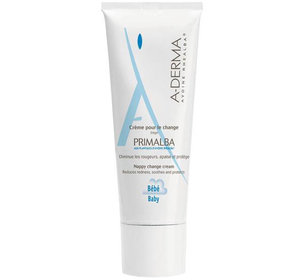 Kem phòng và trị hăm tã Aderma Primalba Nappy Change Cream với thành phần thiên nhiên dịu nhẹ, được dùng khi thay tã cho bé