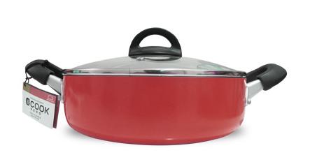 Nồi với đường kính 24cm, có thể sử dụng trên tất cả các loại bếp (bếp gas, bếp điện, bếp từ, bếp hồng ngoại), rất tiện lợi.