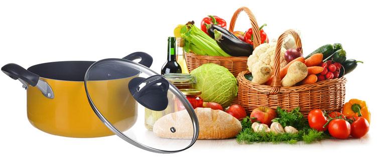 Nồi có khả năng nấu một lượng thức ăn vừa đủ phục vụ cho gia đình từ 4 đến 6 thành viên