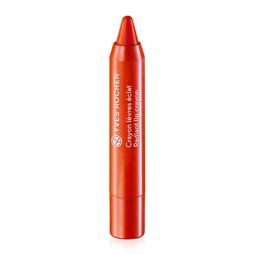 Son Yves Rocher Radiant Lip Crayon thiết kế kiểu dáng bút chì với các màu sắc tươi tắn