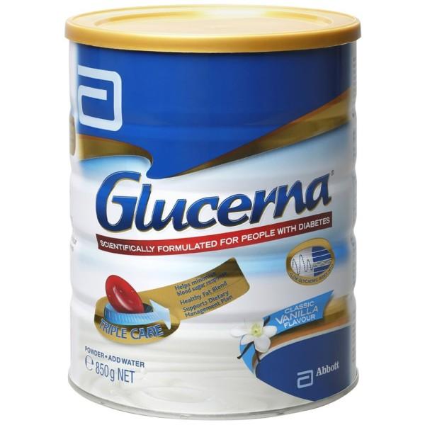 Sữa cho người bị tiểu đường Glucerna chính hãng từ Úc