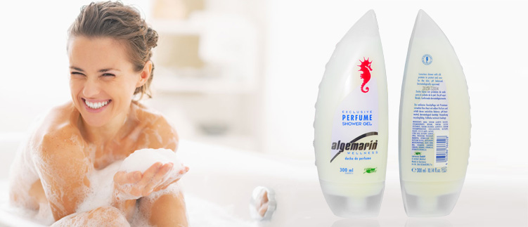 Sữa tắm cá ngựa Algemarin Perfume 300ml của Đức 2