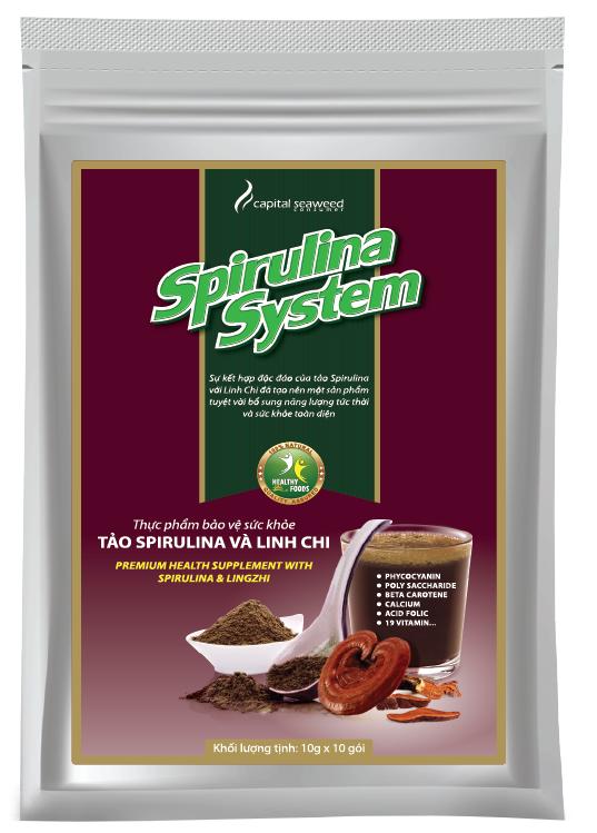 Tảo Spirulina Và Nấm Linh Chi - Tăng Cường Sức Khỏe