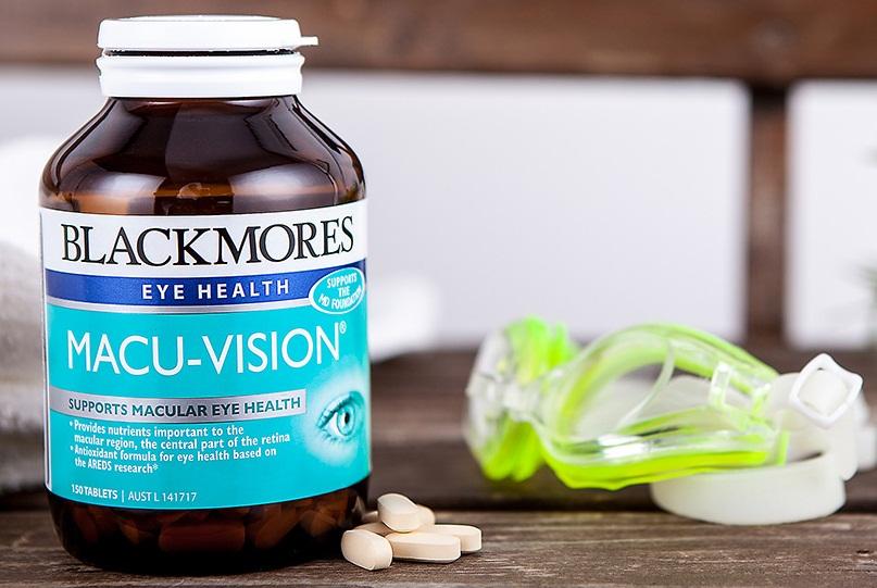 Blackmores Macu-Vision cho đôi mắt khỏe đẹp
