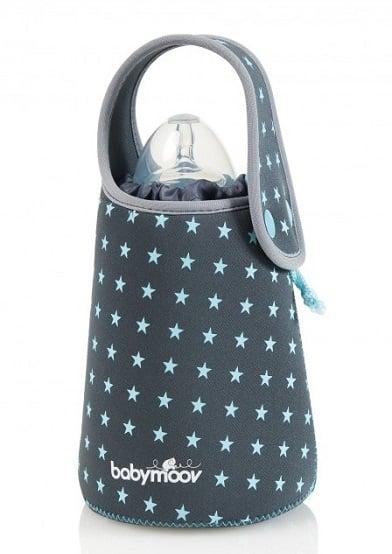 Túi hâm nóng bình sữa Babymoov BM01384 không cần dùng điện an toàn, tiện dụng