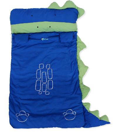 Túi ngủ Kiza Zoo hình chú khủng long khiến bé yêu thích thú