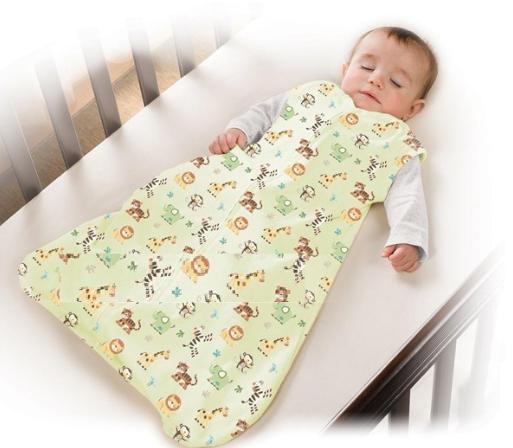 Túi với chất liệu cotton thông thoáng mang lại giấc ngủ ngon cho bé yêu
