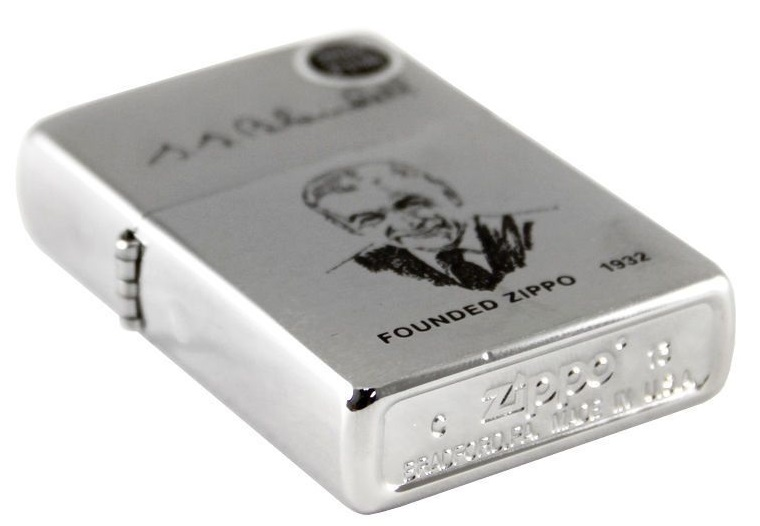 Bật lửa Zippo Founder's Brushed Chrome Finish