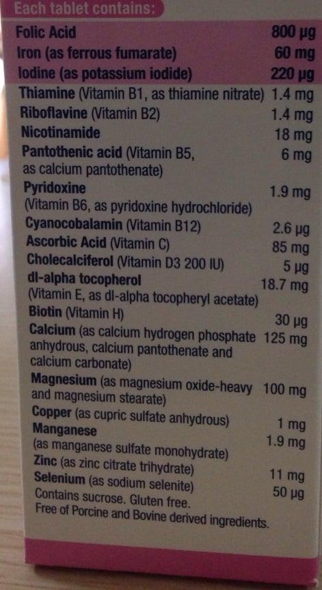 Elevit Của Úc Hộp 100 Viên - Vitamin Tổng Hợp Cho Bà Bầu