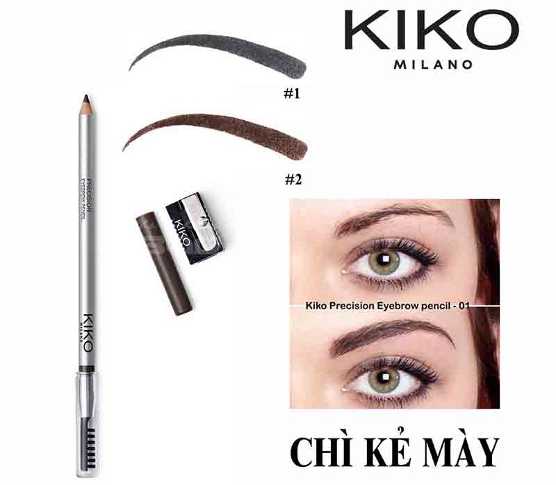 Chì Kẻ Mày Kiko Milano Precision Eyerow Pencil