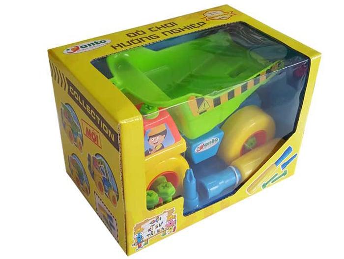 Bộ đồ chơi giúp bé phát triển khả năng sáng tạo, tư duy logic