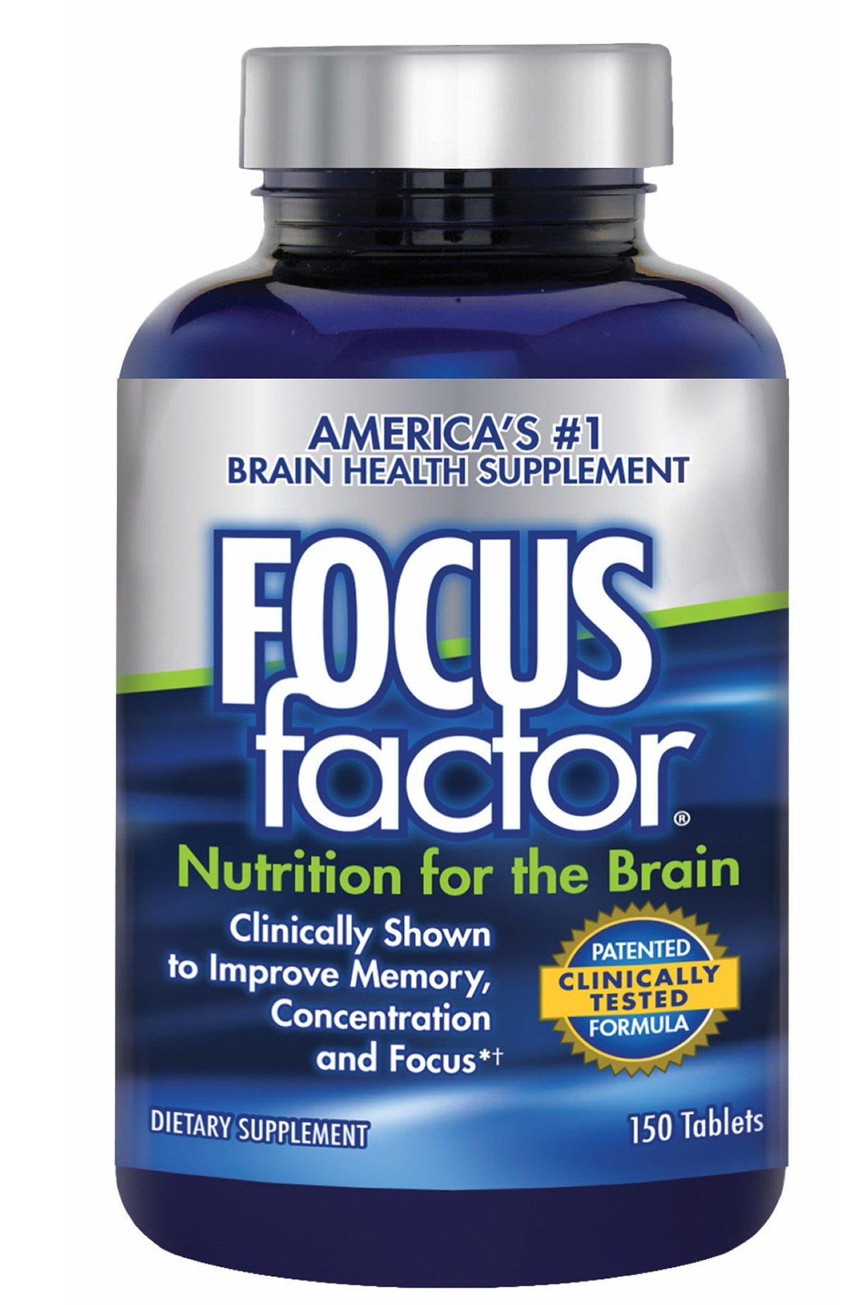 Viên Uống Tăng Cường Chức Năng Não, Giảm Stress Focus Factor Mỹ