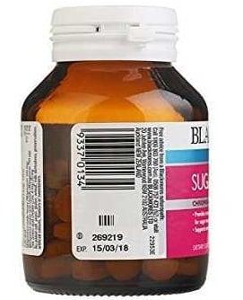 Nhãn sản phẩm Blackmores Sugar Balance 90 viên