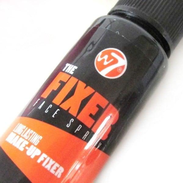 Xịt khoáng giữ lớp trang điểm W7 The Fixer Face Spray