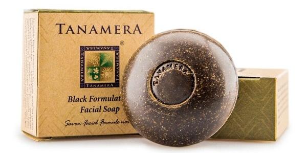 Xà bông rửa mặt Tanamera tinh chất nghệ đen 60g