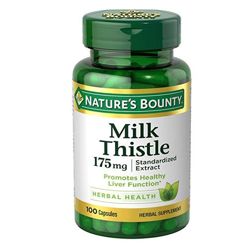 Viên giải độc gan Nature's Bounty Milk Thistle 175mg 100 viên chính hãng của Mỹ