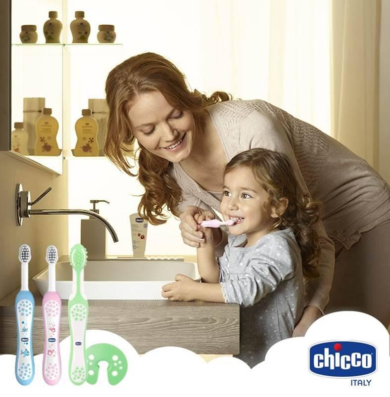 Kem đánh răng với thành phần tinh khiết, an toàn, không chứa Flouride - không cay, bé có thể nuốt được