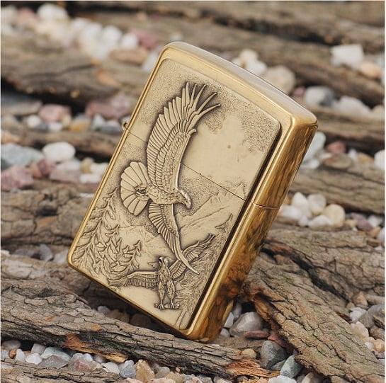 Bật lửa Zippo 20854 Lighter Where Eagles Dare Emblem