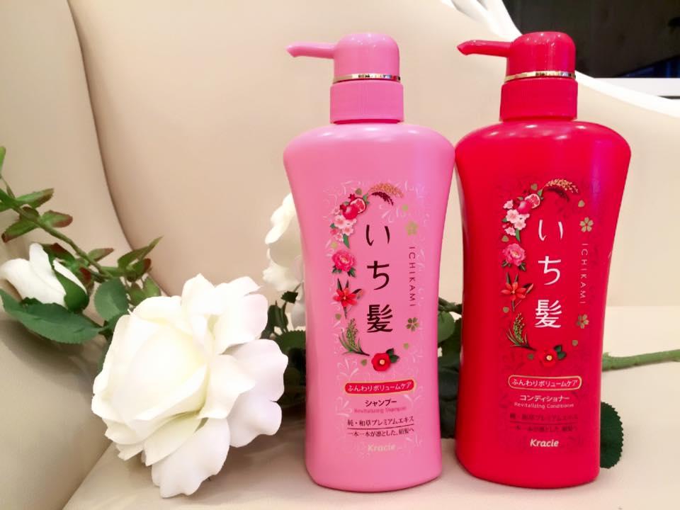 Bộ dầu gội Ichikami ngăn ngừa rụng tóc của Nhật  4