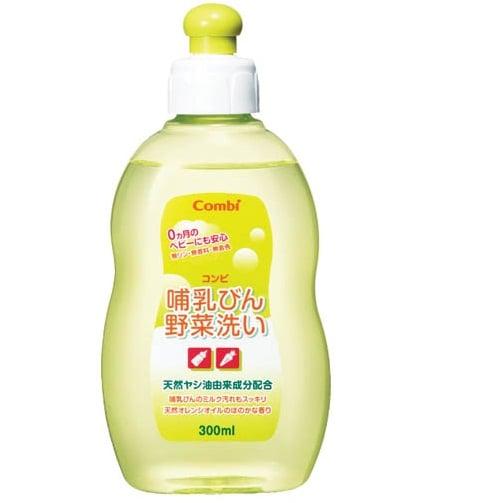 Nước rửa bình sữa và rau củ Combi 300 ML nội địa Nhật