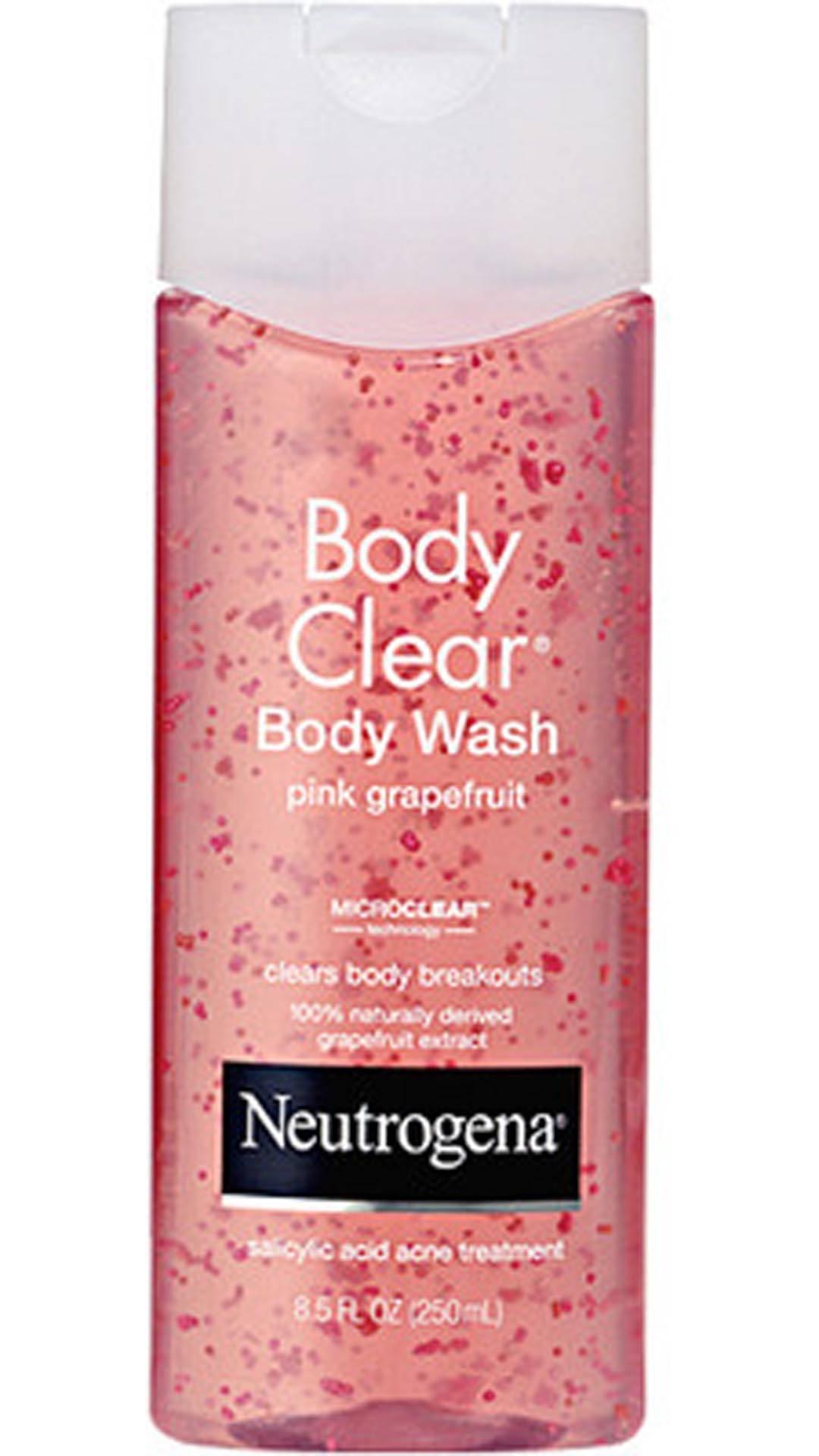 Sữa tắm Neutrogena Body Clear Body Wash Pink Grapefruit 250ml chiết xuất tinh chất bưởi hồng chứa lượng lớn vitamin C