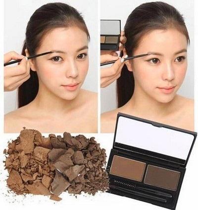 Bột tán mày The Face Shop Brow Master Eyebrow Kit 5