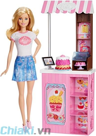 Búp bê Barbie có khớp chủ tiệm bánh DMC35 1