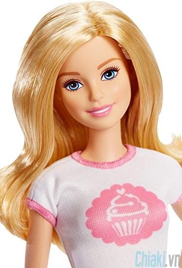 Búp bê Barbie có khớp chủ tiệm bánh DMC35 3