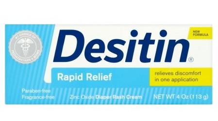 Kem chống hăm Desitin nhập khẩu từ Mỹ (xanh)