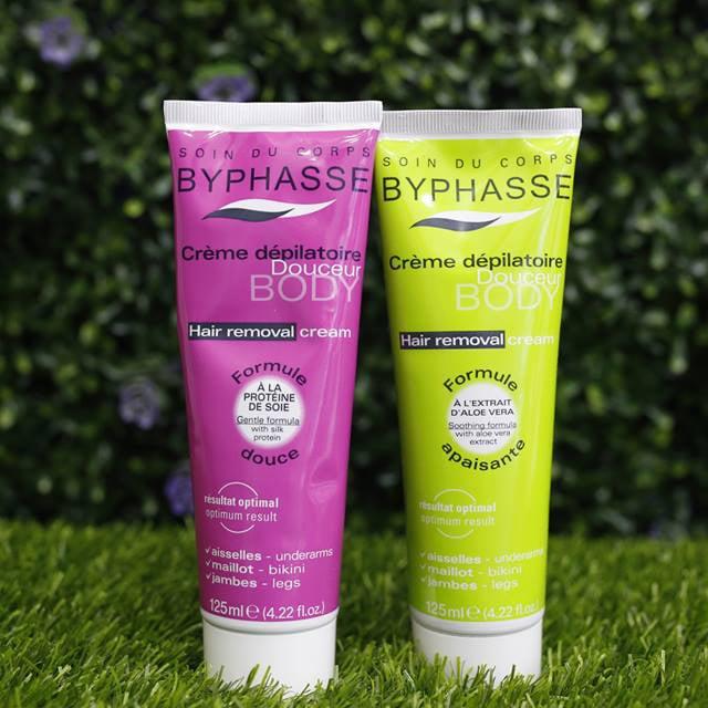 Kem tẩy lông Byphasse Hair Removal Cream giúp bạn tẩy lông tận gốc, làm chậm quá trình lông mọc trở lại