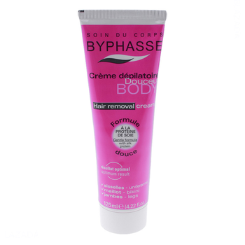 Kem tẩy lông Byphasse Hair Removal Cream chiết xuất từ các thành phần thiên nhiên an toàn