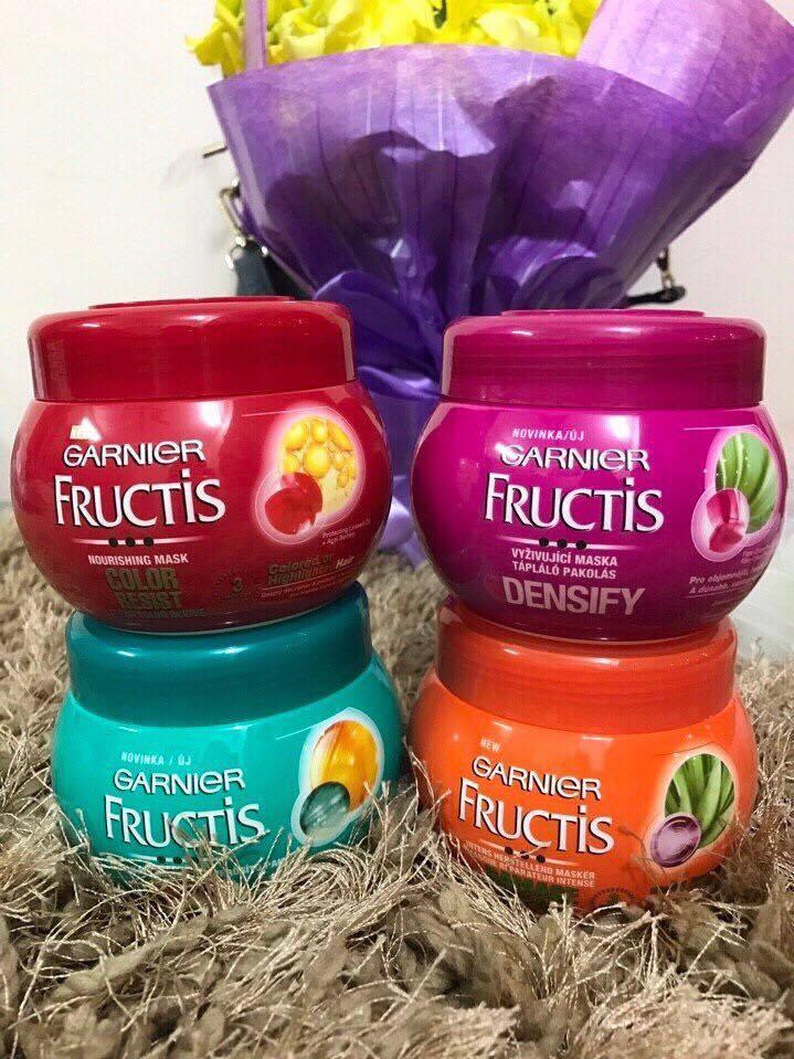 Kem Ủ Tóc Garnier Fructis Phục Hồi Hư Tổn