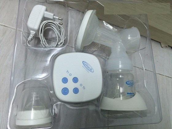 Máy hút sữa điện đơn Gluck GP31 có pin sạc