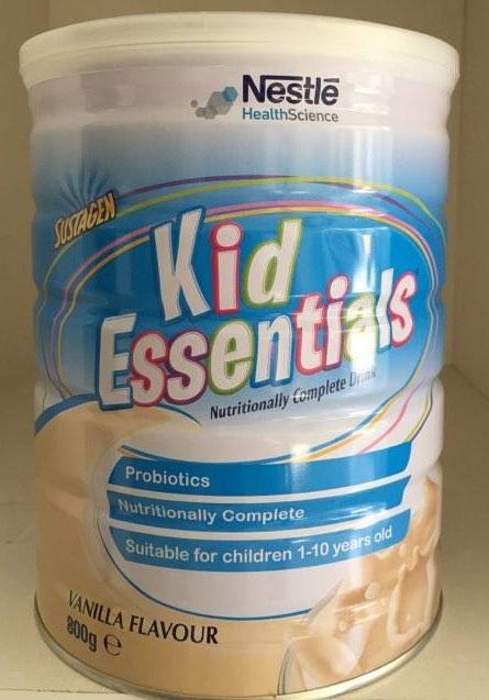 Sữa Kid Essentials Nestle cho bé biếng ăn, chậm lên cân
