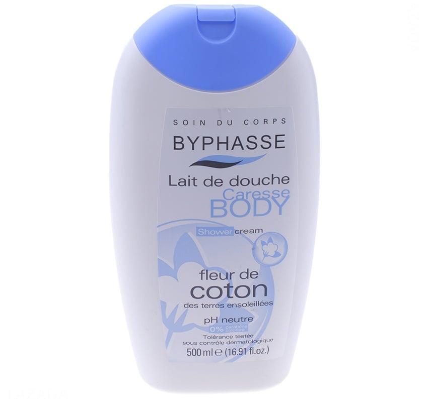 Sữa tắm trắng da Byphasse chiết xuất từ các tinh chất thiên nhiên