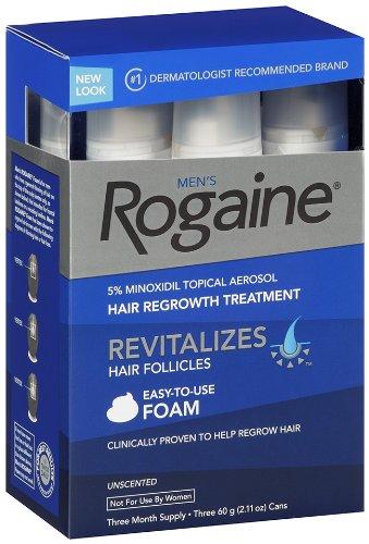 Thuốc mọc tóc Minoxidil 5% Men's Rogaine Foam dạng bọt dành cho nam