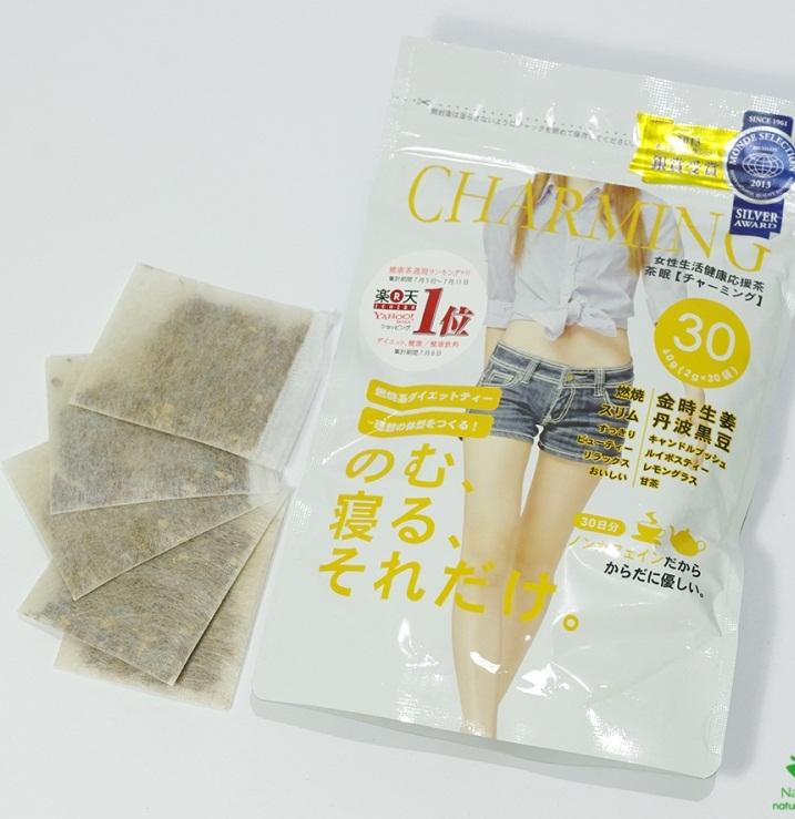 Trà giảm cân Charming Tea Nhật Bản hỗ trợ giảm cân hiệu quả