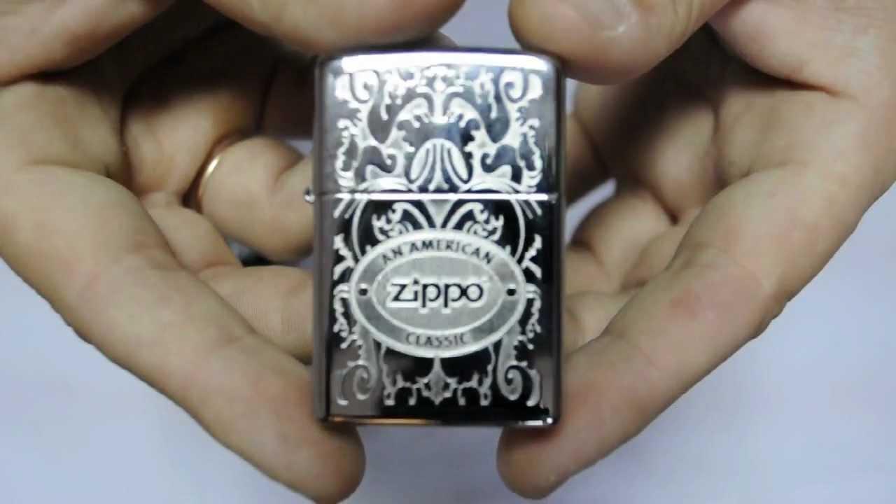 Bật lửa Zippo 24751 Crown Stamp with American Classic Lighter giá rẻ