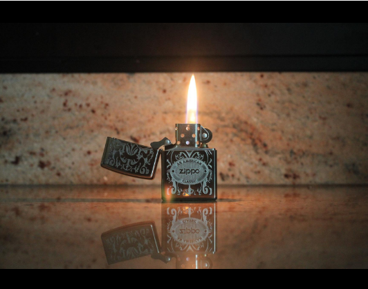 Bật lửa Zippo 24751 Crown Stamp with American Classic Lighter