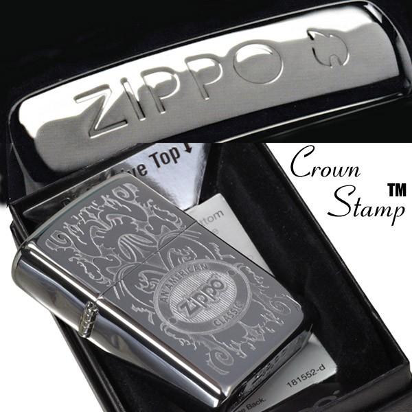 Bật lửa Zippo 24751 Crown Stamp with American Classic Lighter chính hãng