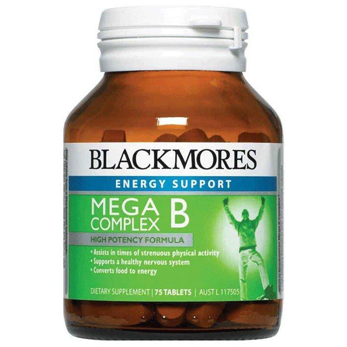 Vitamin B tổng hợp Blackmores Mega B Complex 75 viên