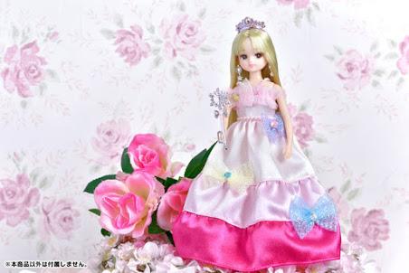 Búp bê Licca công chúa sắc màu LD-03 Colorful Ribbon Princess