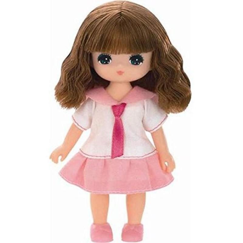Khuôn mặt bầu bĩnh, đôi mắt to cùng mái tóc nâu, búp bê Laica Aoi tạo cảm giác thân thiện, gần gũi với các bé gái